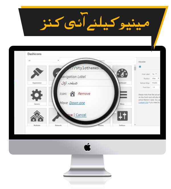 Menu Icons - Premium Urdu Newspaper Theme