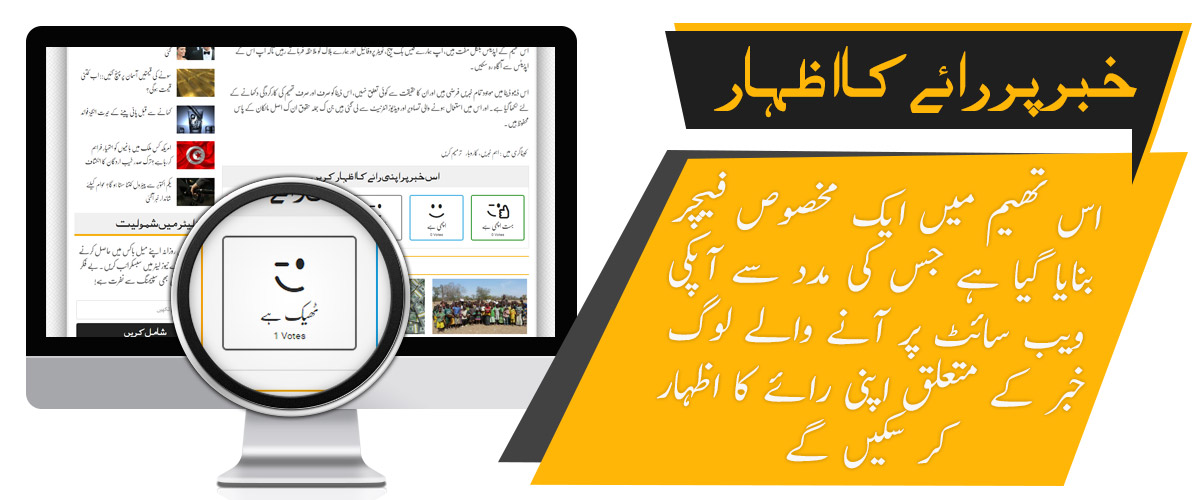 Custom Post Rating - Premium Urdu Newspaper Theme