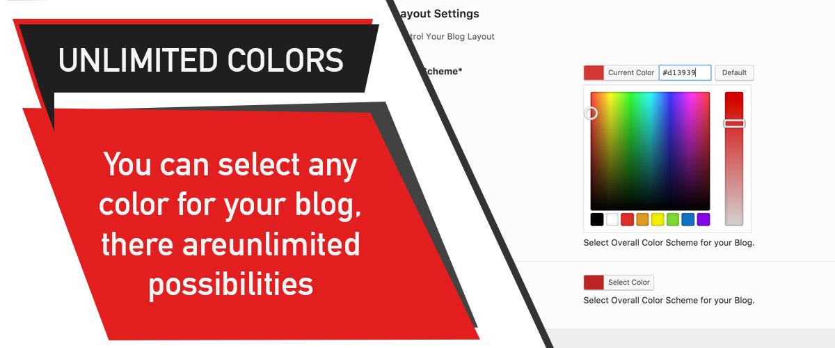 PinBlog - Color Scheme