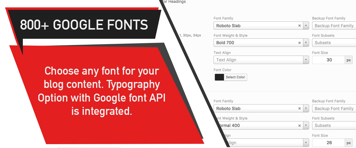 PinBlog - Typography