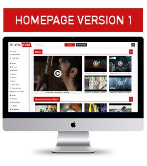 Homepage Demo v1